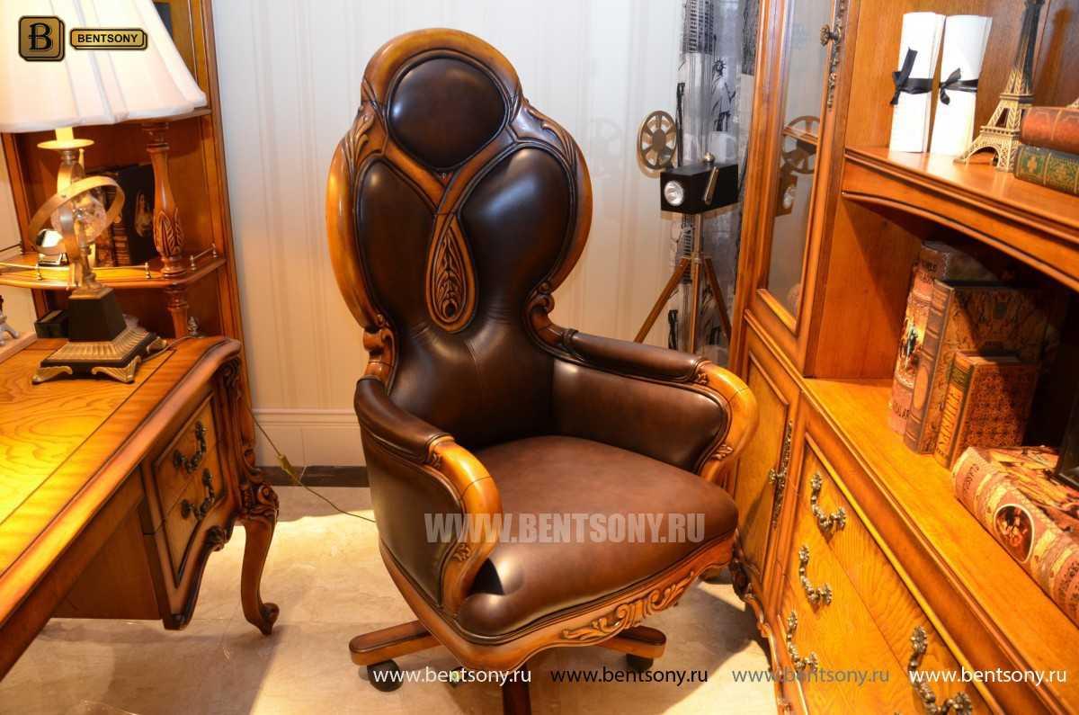 Кресло Кабинетное Дакота А (Классика, натуральная кожа)