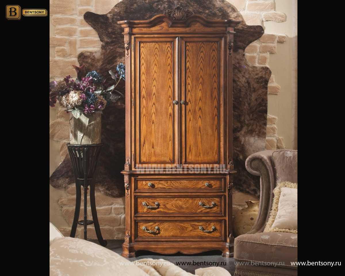 Шкаф 2-х дверный Феникс (Классика, массив дерева)