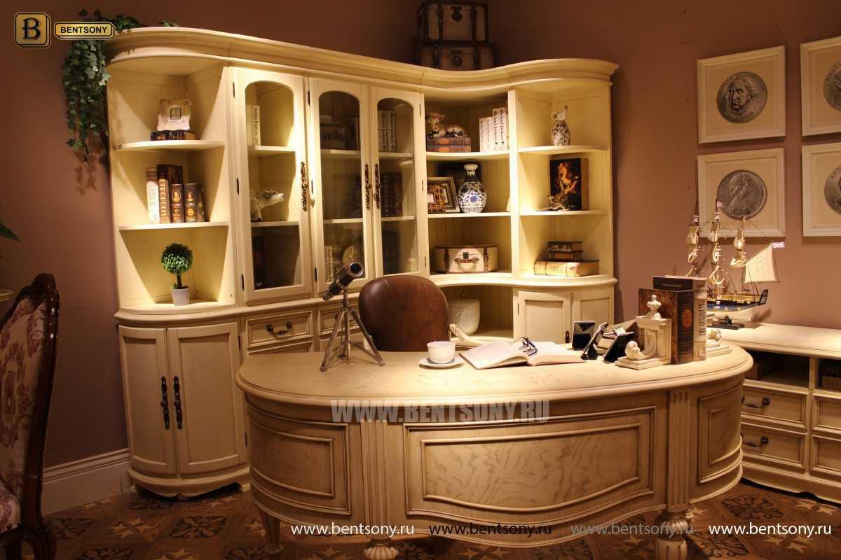 Письменный стол Феникс А (Массив дерева, классика) в СПб