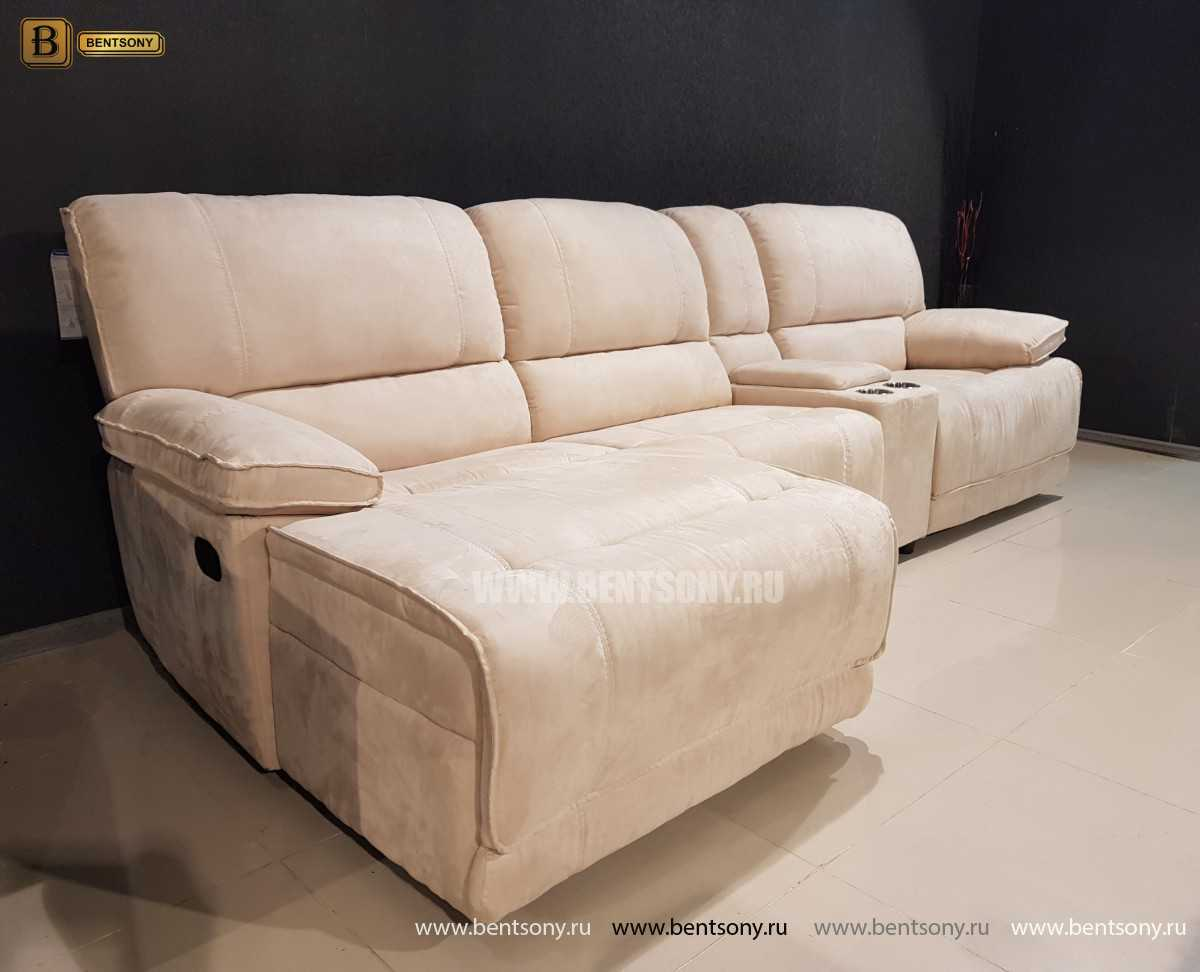 Диван Капонело (Шезлонг, Алькантара, Домашний кинотеатр) для дома