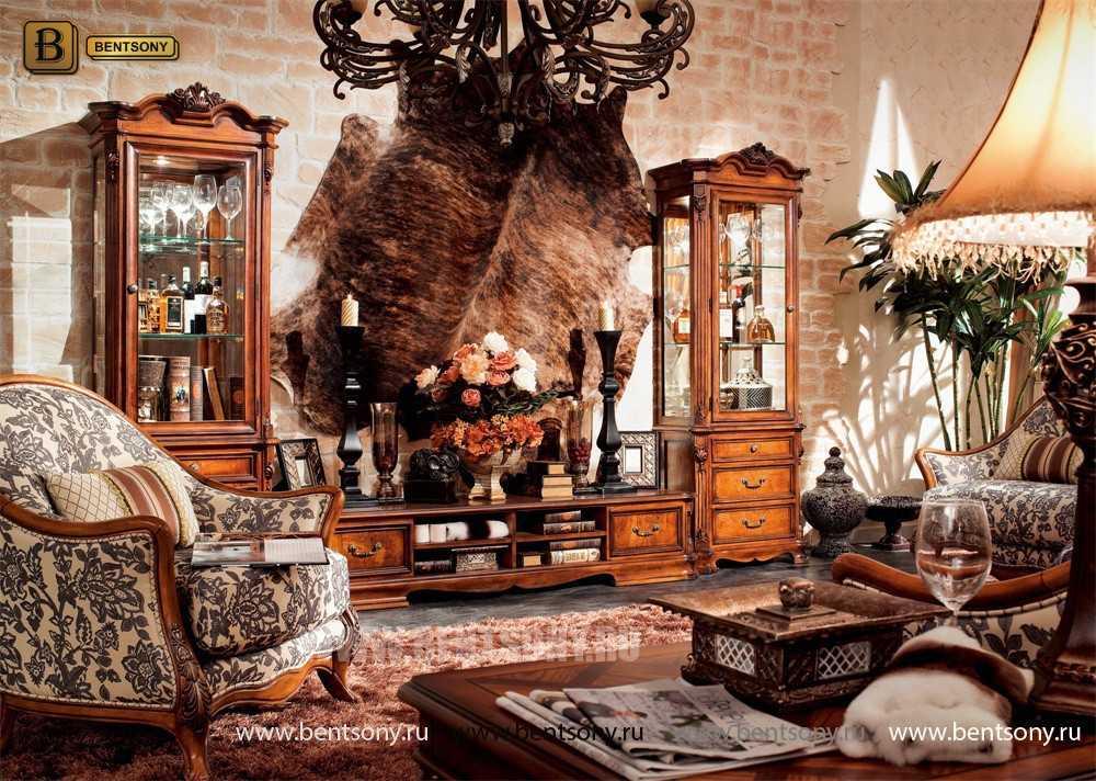 Витрина однодверная Феникс (Классика, массив дерева) официальный сайт цены