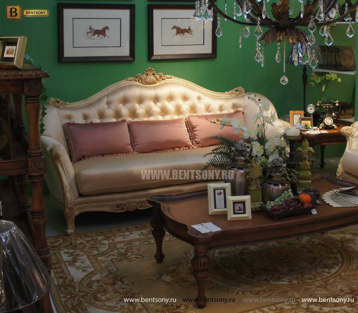 Диван Феникс С (Классика, Ткань) каталог мебели с ценами