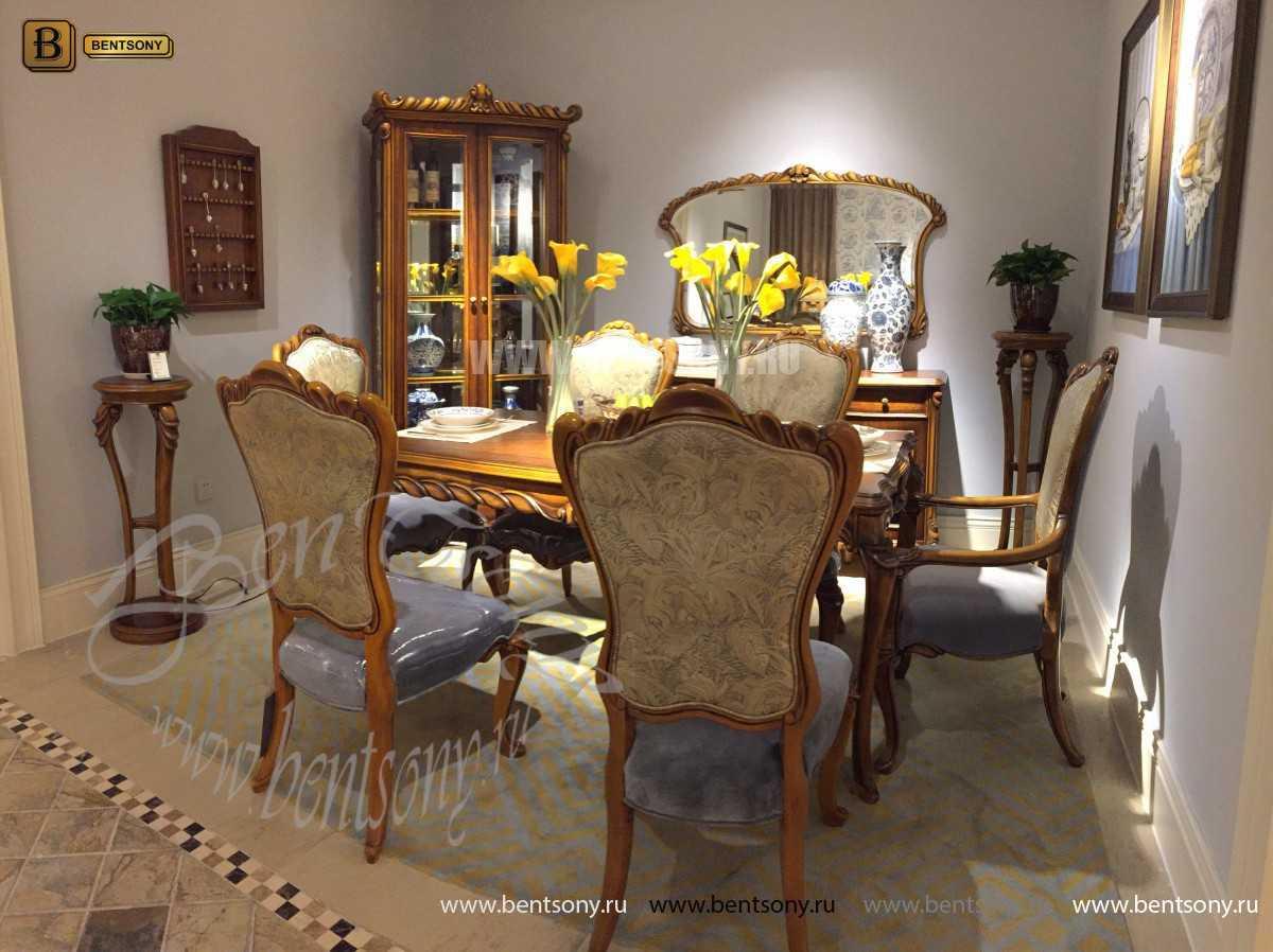 Стол обеденный Лоренс прямоугольный (Классика, массив дерева)