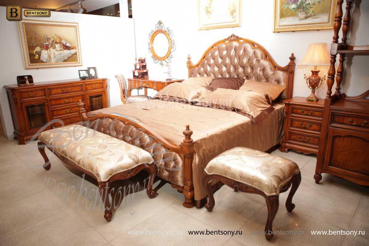 Спальня Феникс D (Классика, Ткань) для квартиры
