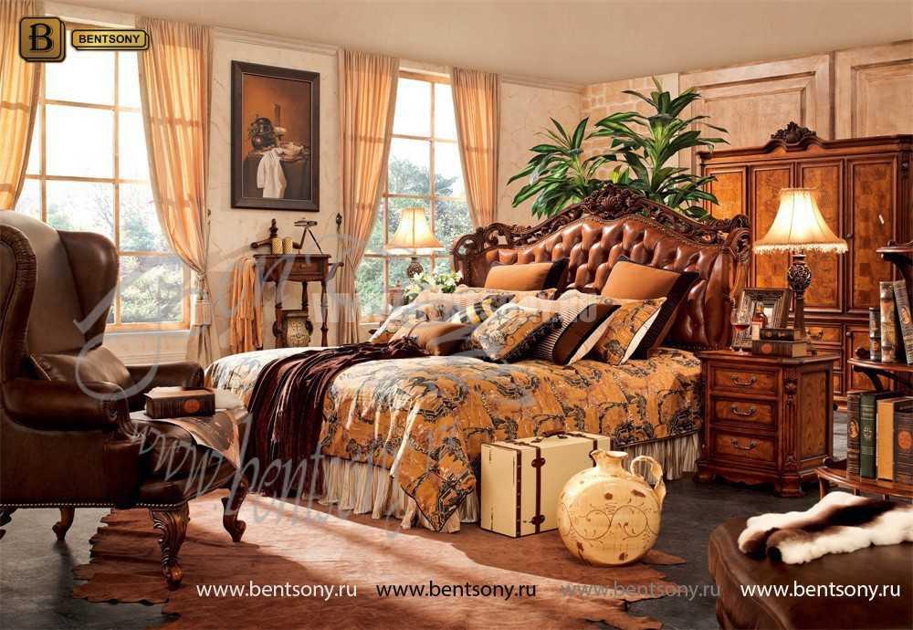 Спальня Феникс F (Классика, Натуральная Кожа)