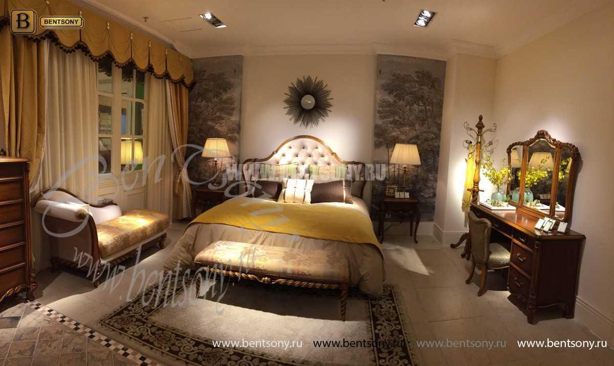 Спальня Лоренс С (Классика, Ткань) каталог мебели с ценами