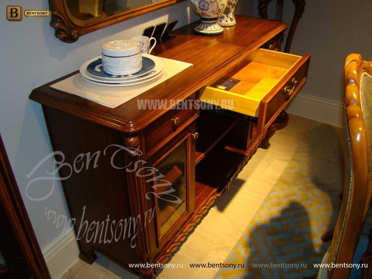 Комод Лоренс (Классика, массив дерева) каталог мебели с ценами
