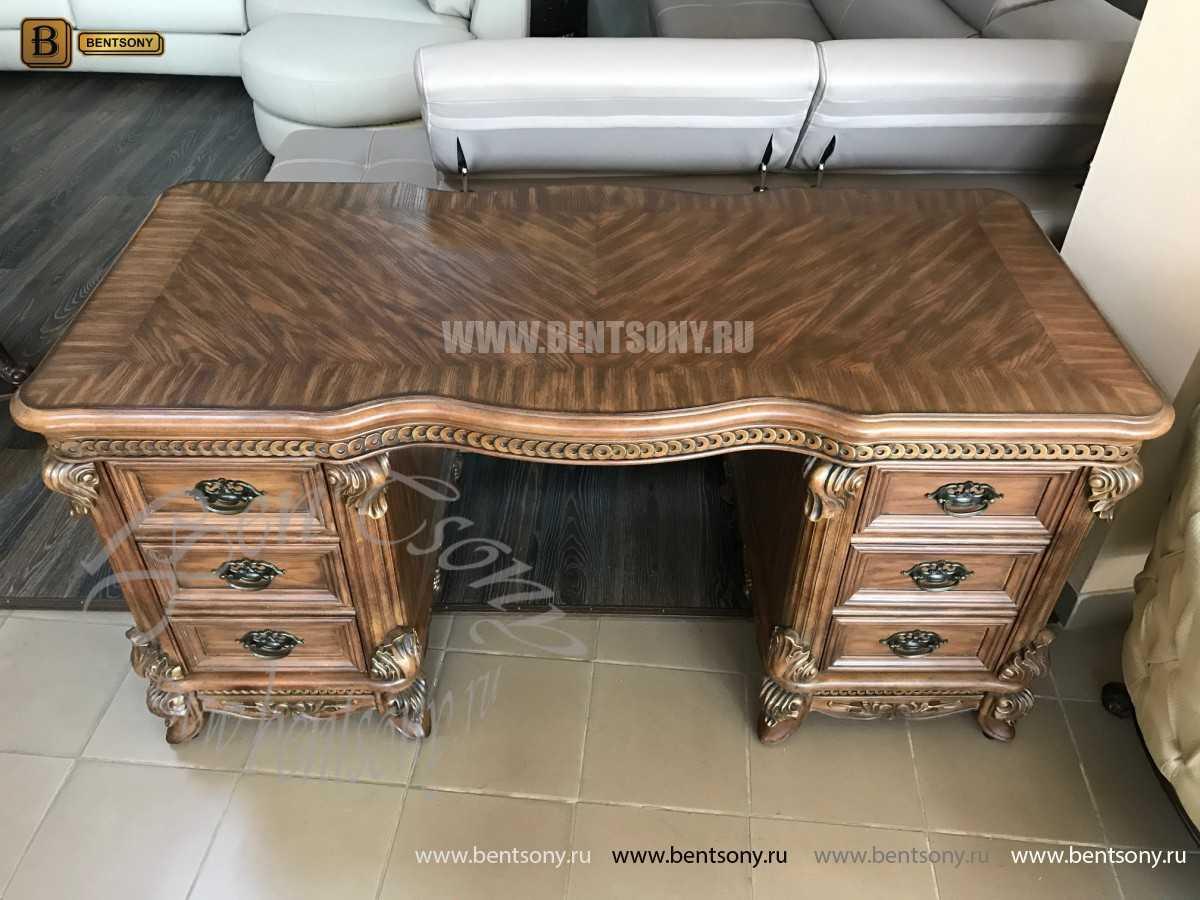 Классический Письменный стол Рамирес (Массив дерева) цена