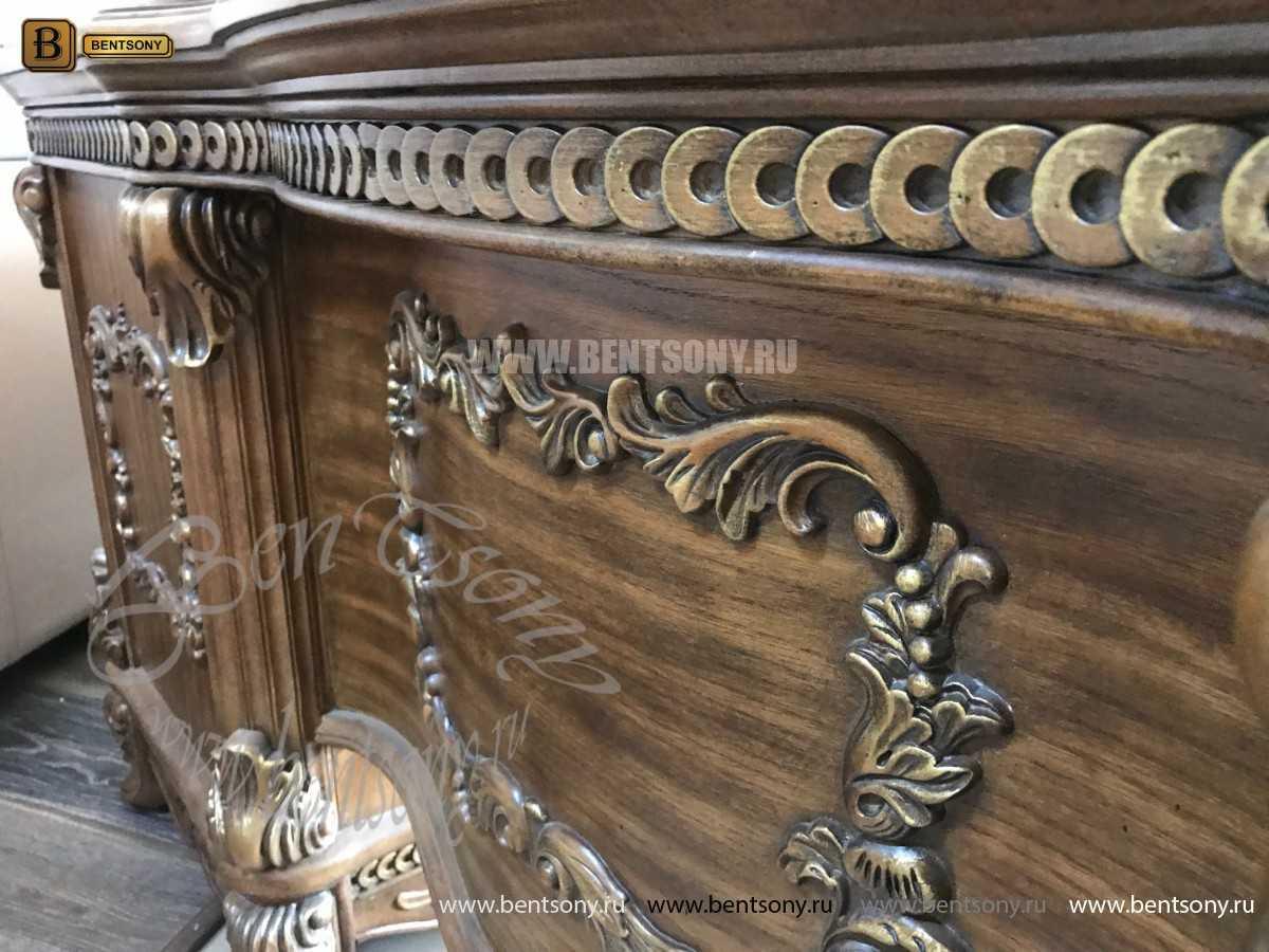 Классический Письменный стол Рамирес (Массив дерева) для дома