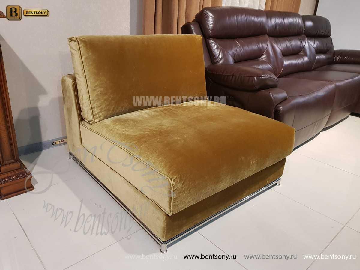Кресло Дивана Лучиано (Велюр) для загородного дома