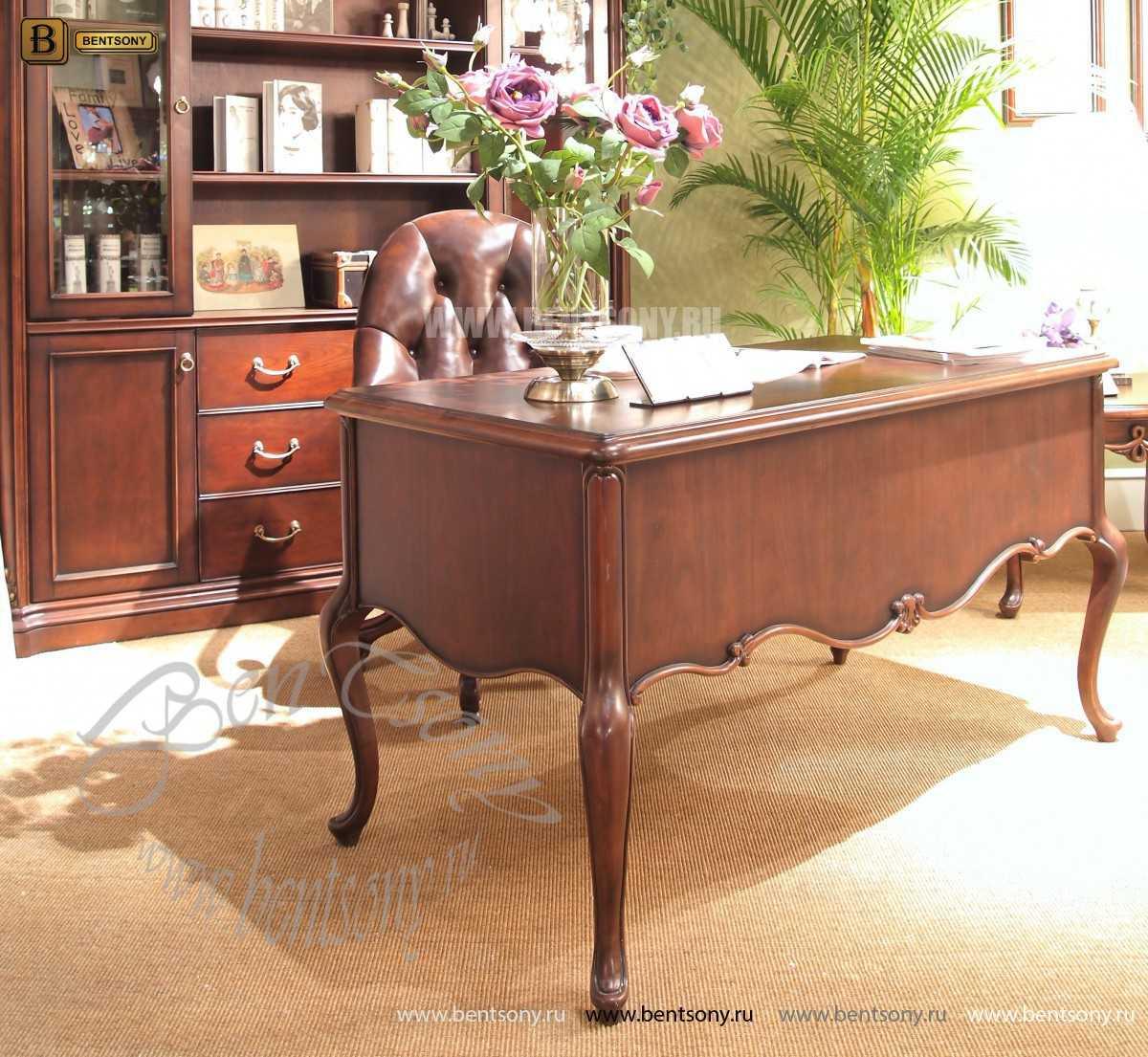 Письменный стол Крофорд (Массив дерева, классика) цена