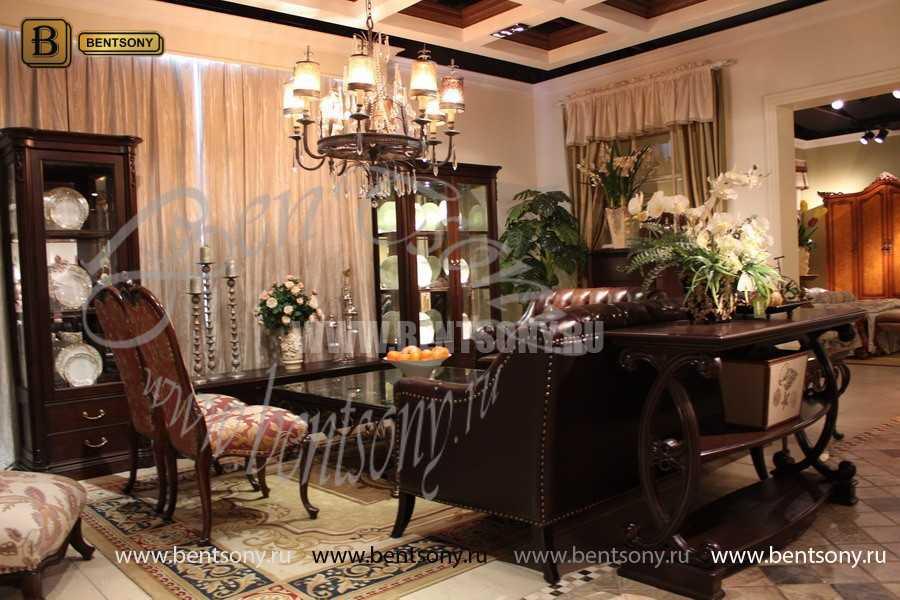Витрина онодверная Крофорд (Классика, массив дерева) каталог мебели с ценами