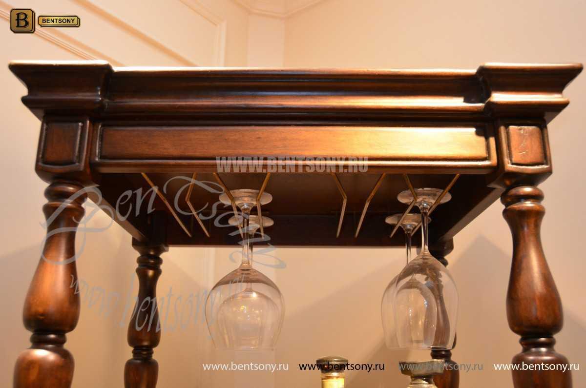 Винный шкаф Крофорд (Массив дерева)