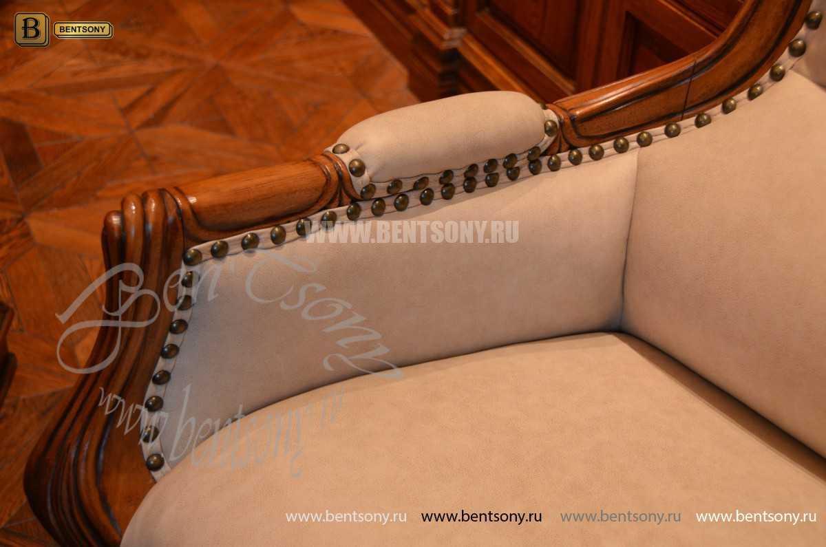 Классическое Кресло Кабинетное Монтана (Натуральная кожа)  каталог мебели
