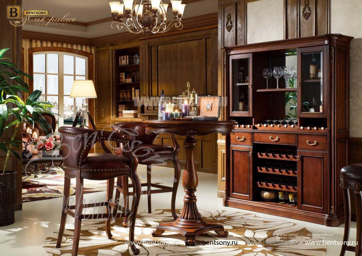 Стол барный Крофорд (Классика, массив дерева)