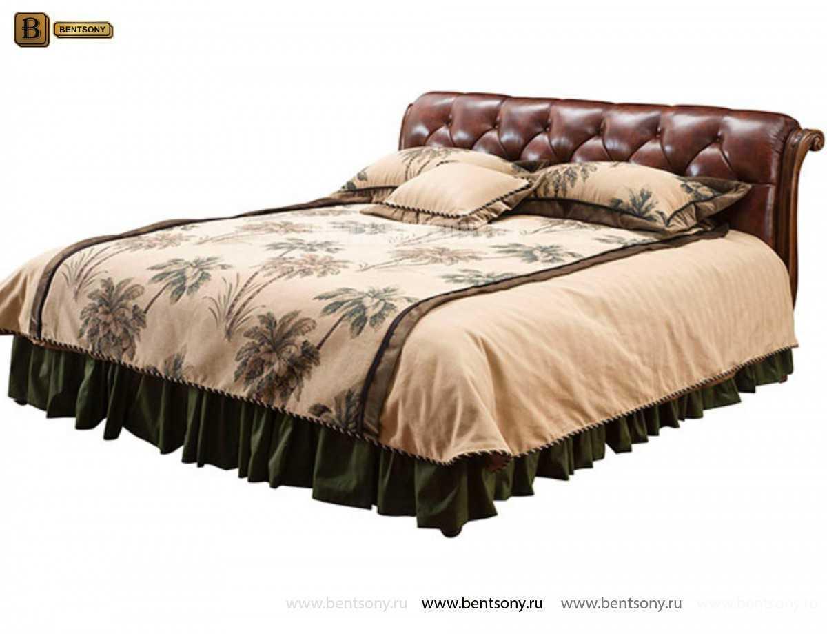 Спальня Крофорд D (Массив дерева, натуральная кожа) в СПб