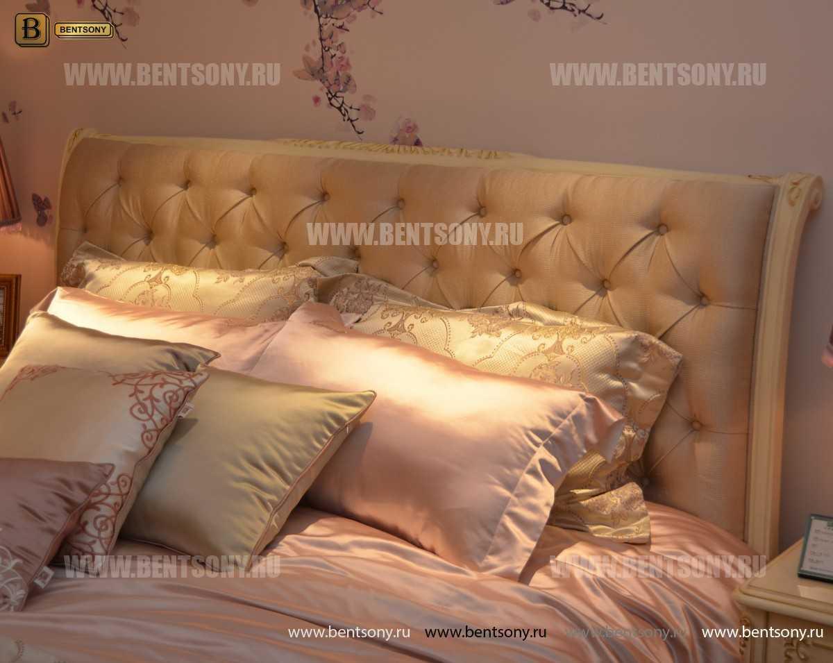 Кровать Митчел D (Классика, Ткань) для квартиры