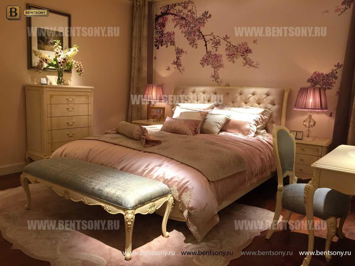 Кровать Митчел D (Классика, Ткань) в Москве