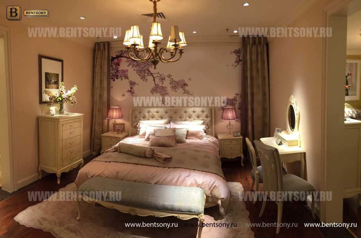 Кровать Митчел D (Классика, Ткань) распродажа