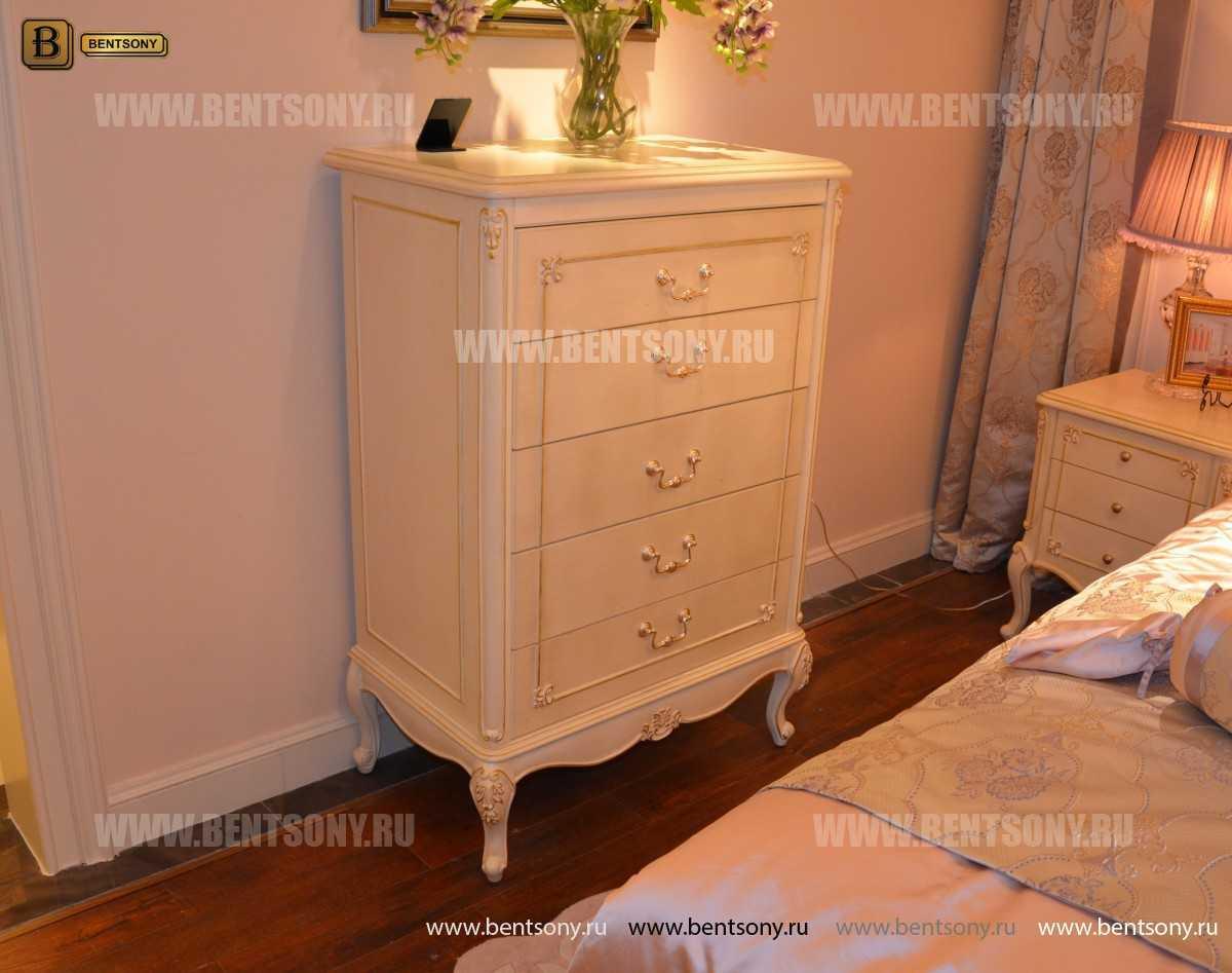 Спальня Митчел D (Классика, Ткань) для дома