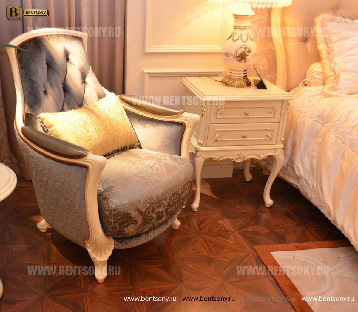 Кресло Митчел А для гостиной (Классика, ткань) купить в Москве