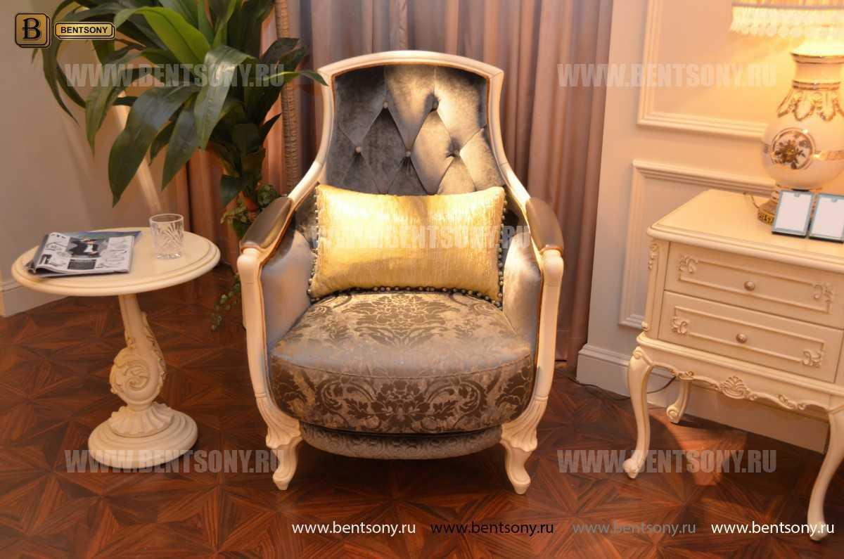 Кресло Митчел А для гостиной (Классика, ткань) в СПб