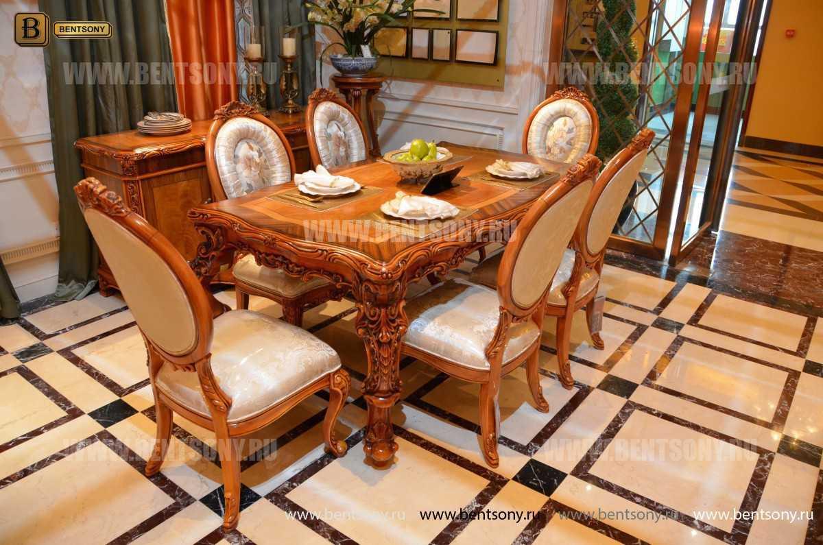 Стол обеденный Белмонт прямоугольный (массив дерева) каталог