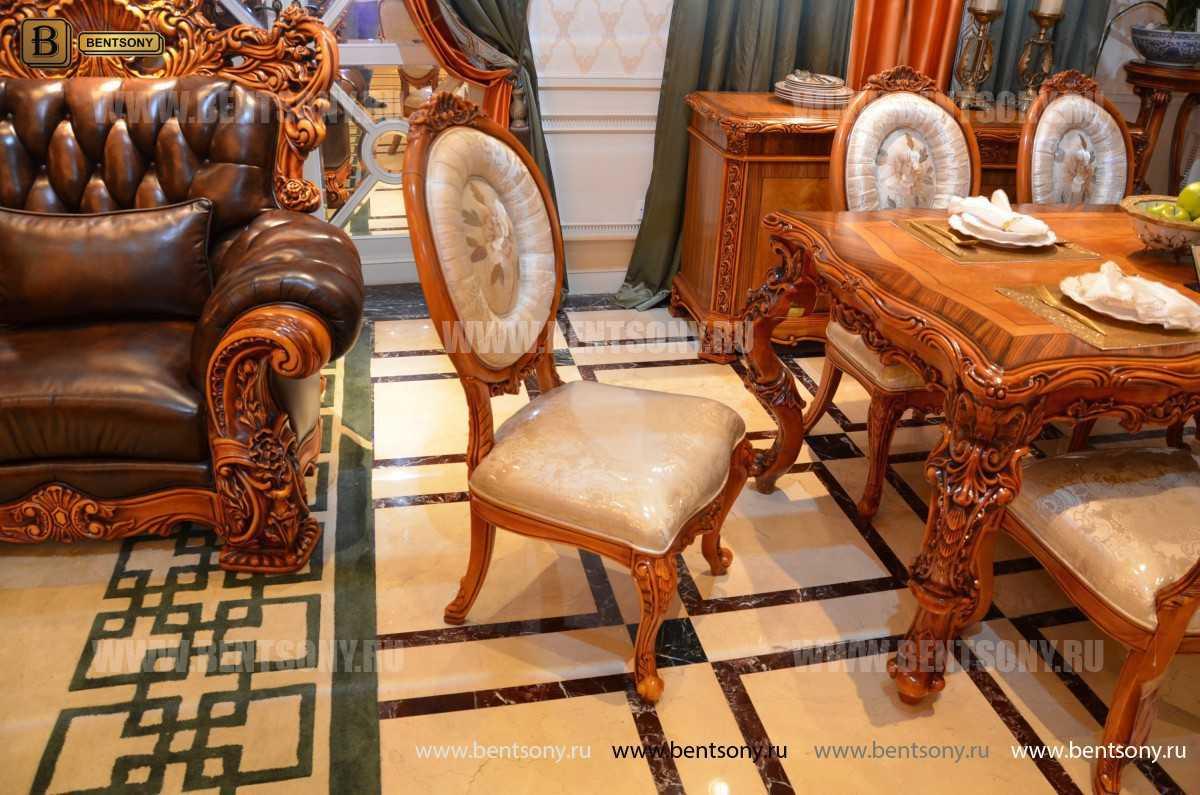 Стол обеденный Белмонт прямоугольный (массив дерева) купить