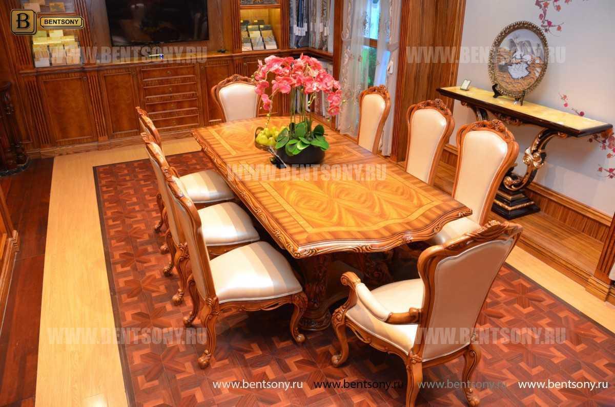 Стол обеденный раздвижной Белмонт (массив дерева) фото