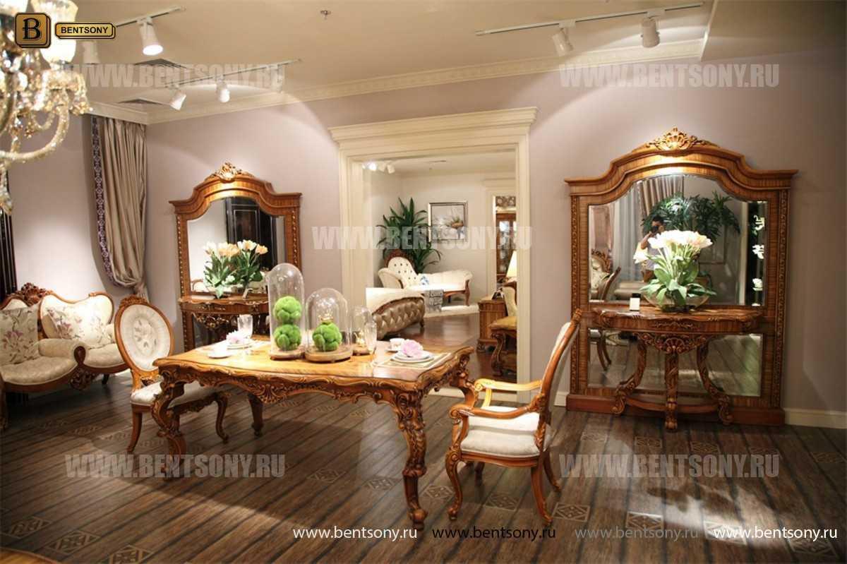 Классический Стул Белмонт А с подлокотниками (Ткань) каталог мебели с ценами
