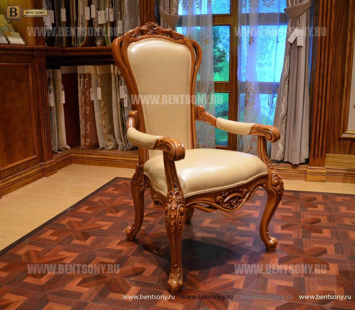 Классический Стул Белмонт В (Натуральная кожа) каталог мебели с ценами