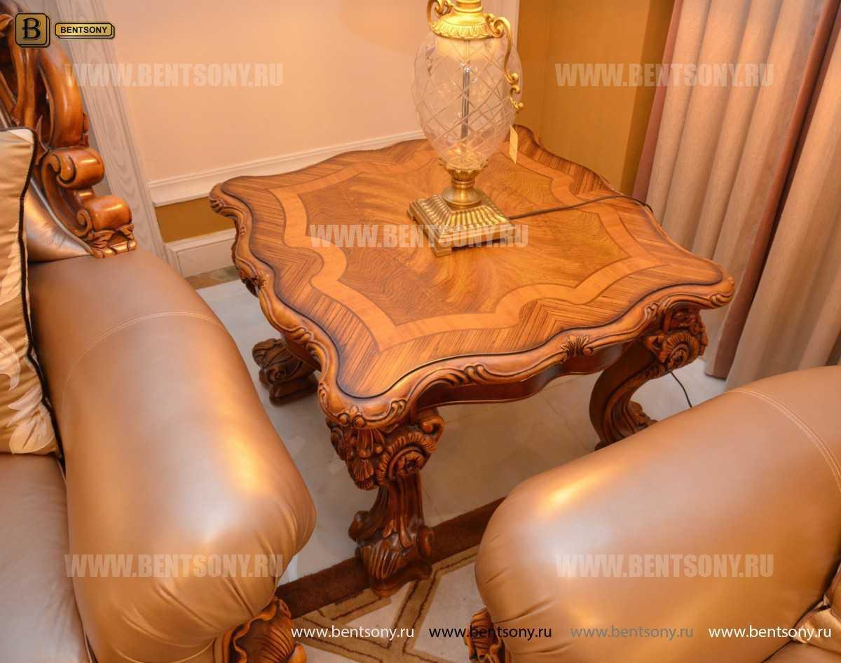 Стол журнальный  Белмонт А маленький (Массив дерева) каталог мебели