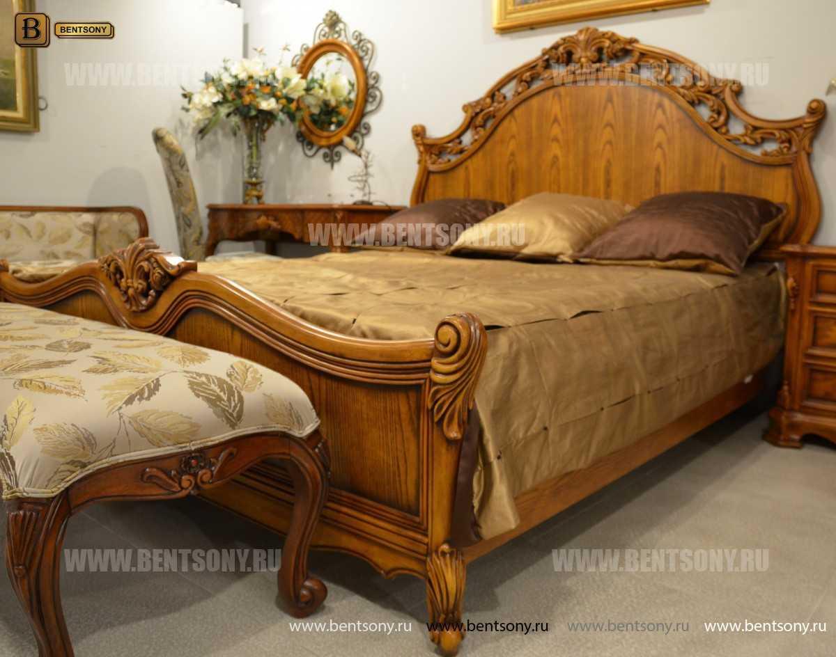 Кровать Феникс С (Классика, Массив дерева) магазин Москва