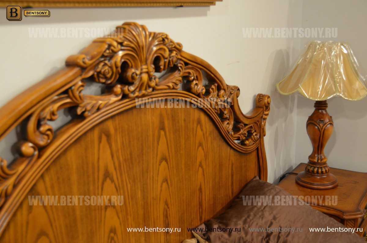 Кровать Феникс С (Классика, Массив дерева) каталог мебели с ценами
