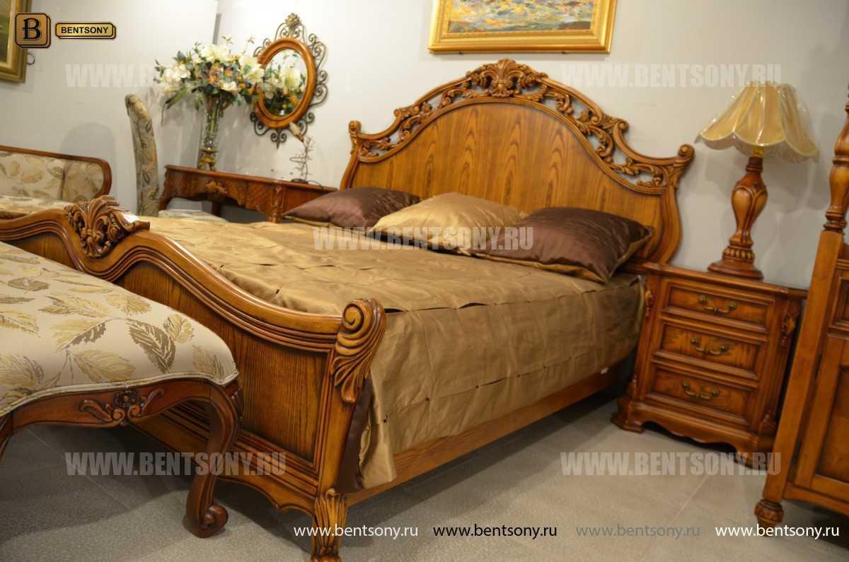 Кровать Феникс С (Классика, Массив дерева) каталог с ценами