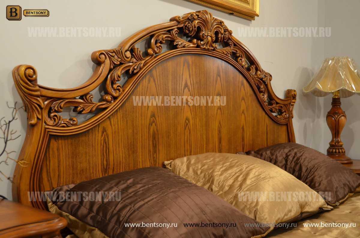 Кровать Феникс С (Классика, Массив дерева) фото