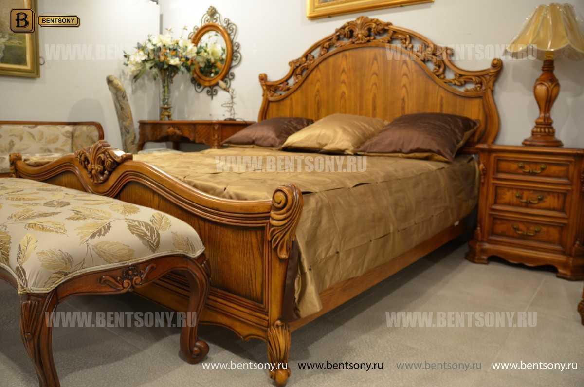 Спальня Феникс С массив дерева (Классика) купить в Москве