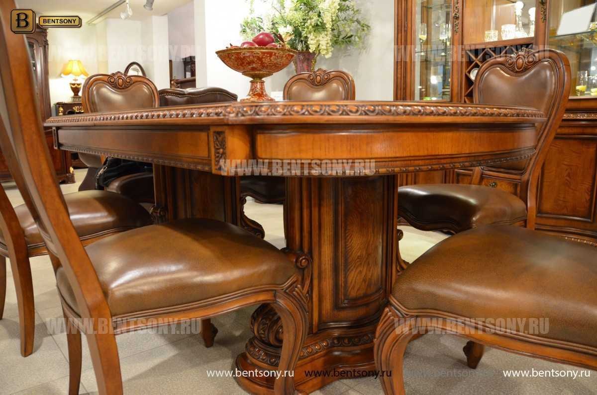 Обеденный стол Монтана (Раскладной, массив дерева) в СПб