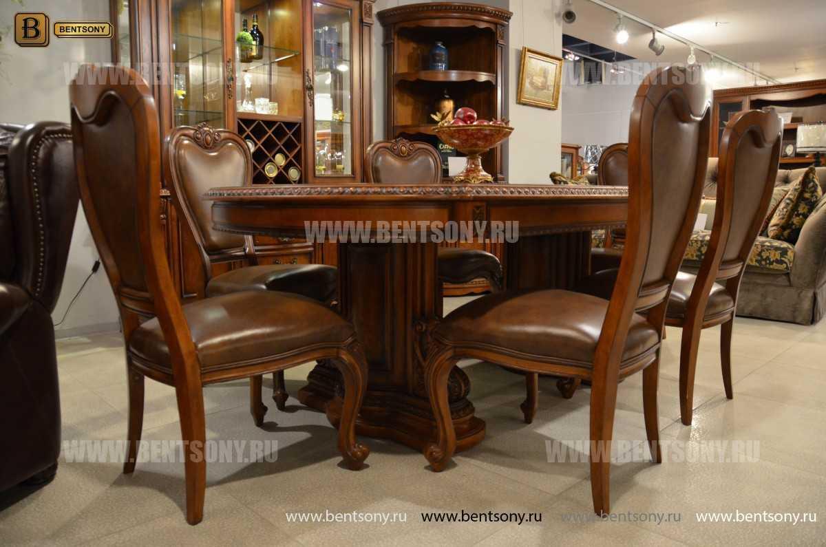 Обеденный стол Монтана (Раскладной, массив дерева) для дома