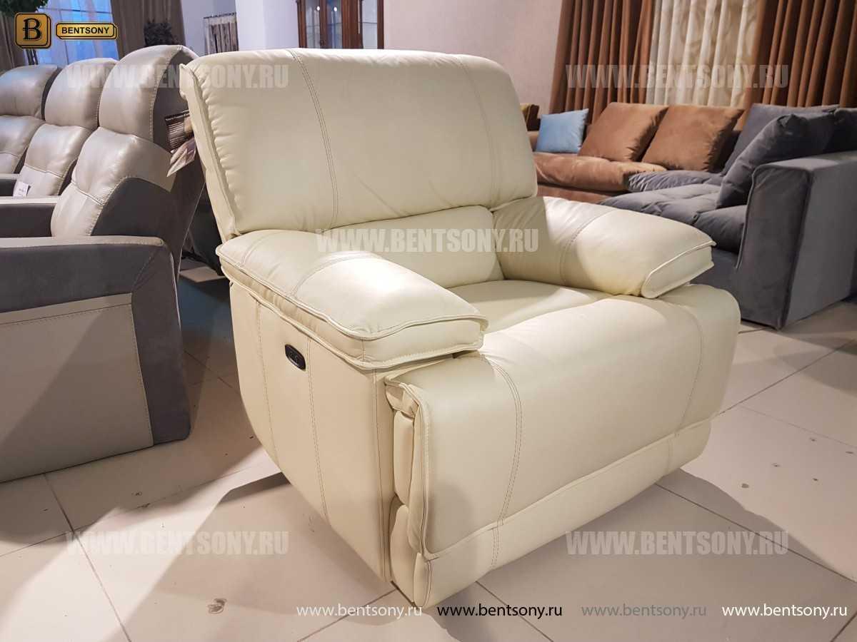 Кресло Капонело (Реклайнер, Натуральная кожа) интернет магазин