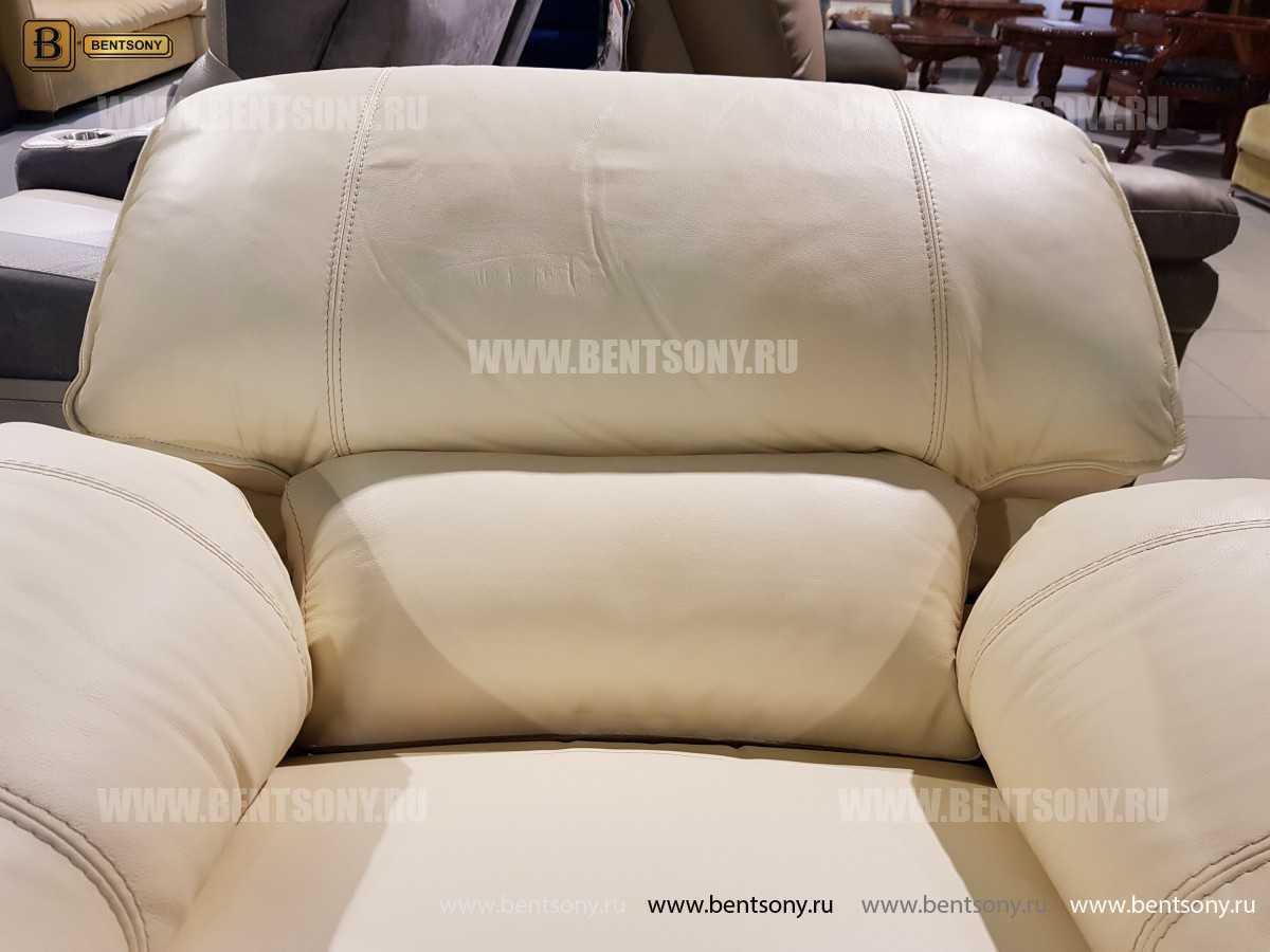 Кресло Капонело (Реклайнер, Натуральная кожа) цена