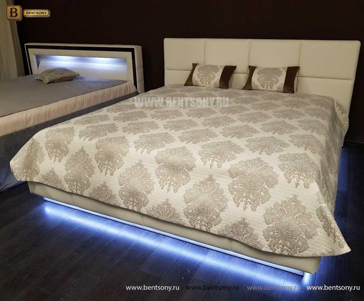 Кровать Адриана (Подъемный механизм, Подсветка) в интерьере