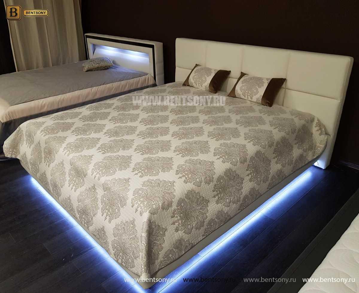 Кровать Адриана (Подъемный механизм, Подсветка) в СПб