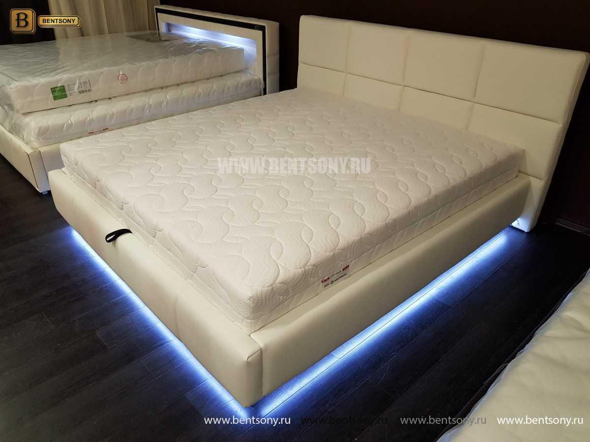 Кровать Адриана (Подъемный механизм, Подсветка) сайт цены