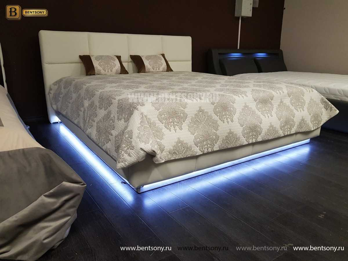 Кровать Адриана (Подъемный механизм, Подсветка) изображение