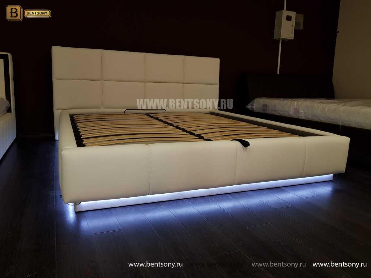 Кровать Адриана (Подъемный механизм, Подсветка) интернет магазин