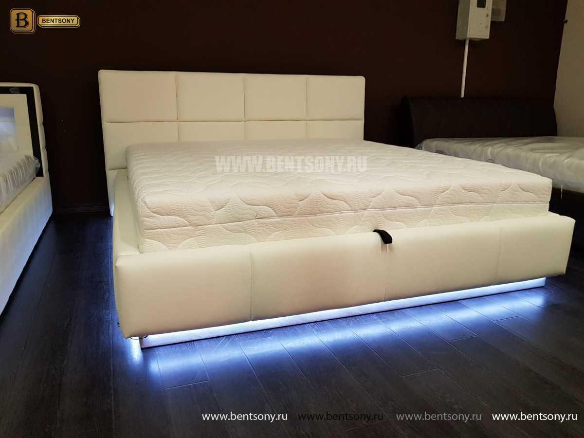 Кровать Адриана (Подъемный механизм, Подсветка) каталог с ценами