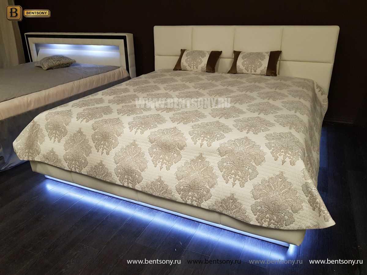 Кровать Адриана (Подъемный механизм, Подсветка) каталог