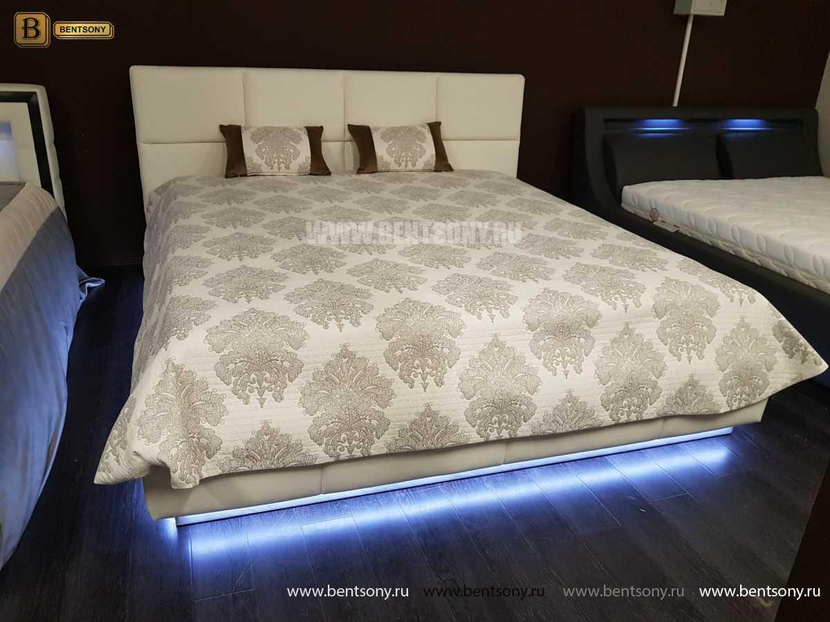 Кровать Адриана (Подъемный механизм, Подсветка) официальный сайт цены
