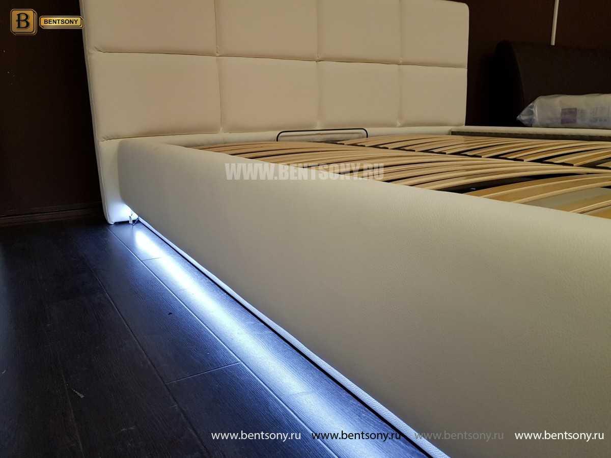 Кровать Адриана (Подъемный механизм, Подсветка) цена